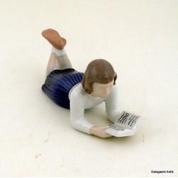 Pige,der læser