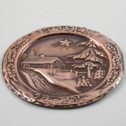 Kobberplatte 1922