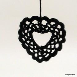 Hækled hjerte