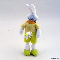 Kanin med blomst