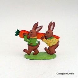Kanin med pensel