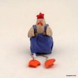 Siddende høne