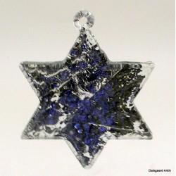 Sølvfarvet stjerne