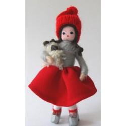 Pige med lam. År 2010