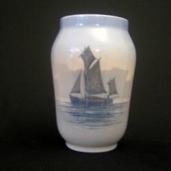 Vase med skib