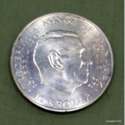 10 krone tronskiftet 1972