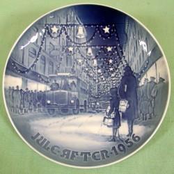 Juleplatte 1956