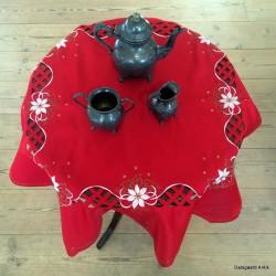 Juledug - rød