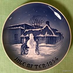 Juleplatte 1954
