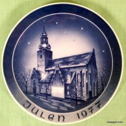 Kirkeplatte 1977