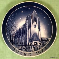 Kirkeplatte 1973