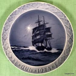Juleplatte 1924