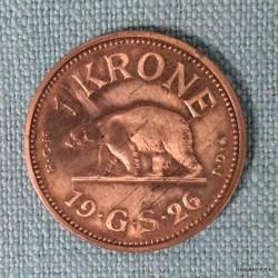 Grønlandsk 1 krone 1926