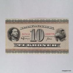 10 krone - Uden fold
