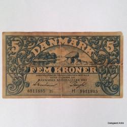 5 krone 1942