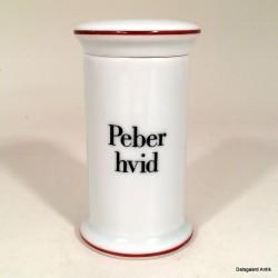 Peber hvid