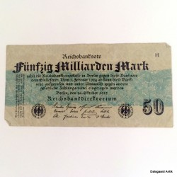 Fünfzig milliarden mark