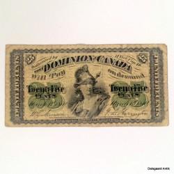 TwentyFive cents Canada
