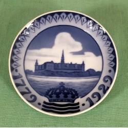 Royal Copenhagen mindeplatte