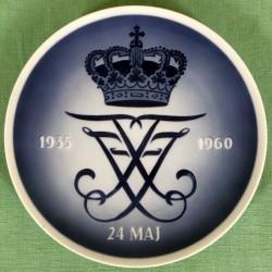 Kongelig mindeplatte 1960