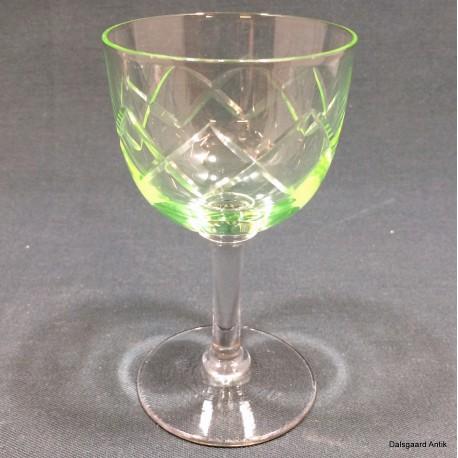 Hvidvinsglas