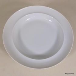 Suppetallerken Hvid Koppel