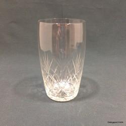 Vandglas rund form