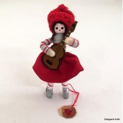 Pige med guitar