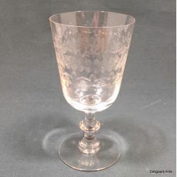 Berlinoisglas med slibninger