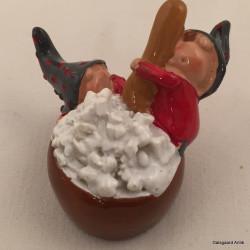 Nisser med julegrød