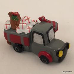 Lastbil med gaver