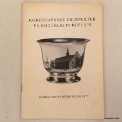 Københavnske prospekter på kongelig porcelæn
