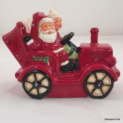 Jule bil med nisser