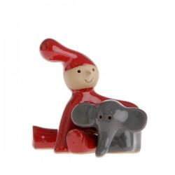 Pixy nisse med elefant