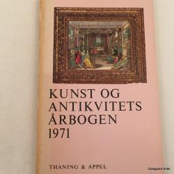 Kunst og antikviteter årbogen 1971