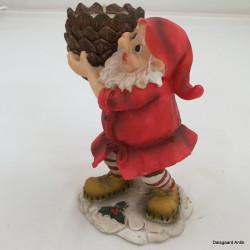 Julemand lysestage