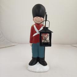 Soldat med lanterne