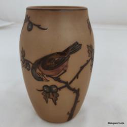 Vase med fugl