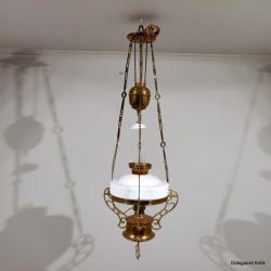Petroleumshængelampe