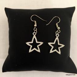 Øreringe med stjerner