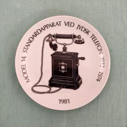 Telefon platte 1981