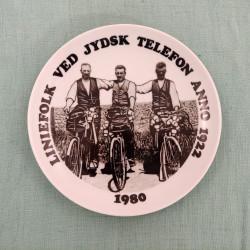 Telefon platte 1980