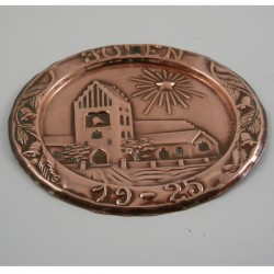 Kobberplatte 1925