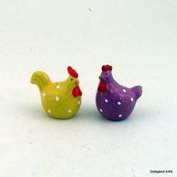 Salt og pepper høns