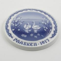 Påskeplatte 1917