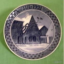 Juleplatte 1921
