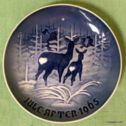 Juleplatte 1965