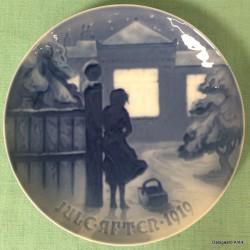 Juleplatte 1919