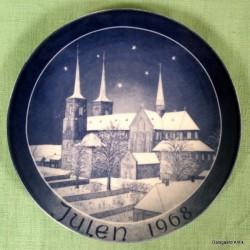 Kirkeplatte juleplatte 1968