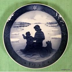 Juleplatte 1958